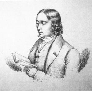 Friedrich Carl von Savigny. Bleistiftzeichnung, 1805.